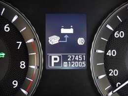 『ハイブリッドシステム』エンジンと電気モ-タ-の2つの動力源を持ち、走行条件によって、モ-タ-のみで走行、モ-タ-とエンジン同時に使用して走行するシステム!燃費が良いですね♪