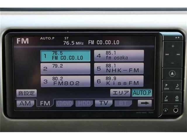 HDDナビ付きです♪フルセグTV視聴やミュージックサーバー機能などもご利用いただけます☆