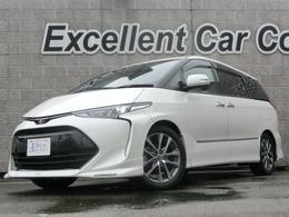 トヨタ エスティマ 2.4 アエラス スマート トヨタセーフティS 白革S TRD各パーツ