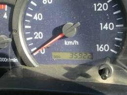 実走行35,922kmです♪まだまだ働いてくれます♪