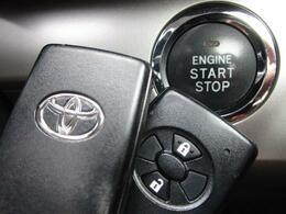 ■ 装備4 ■ プッシュスタート:押すだけ簡単エンジン始動!キーの電池が切れても使えます/スマートキー×2:鍵の開閉からエンジン始動まで、ポケットから出さなくてもOKです!