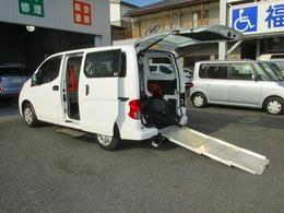 日産 NV200バネットバン 1.6 チェアキャブ 車いす1名仕様 専用サードシート有 純正福祉車両 車いす仕様チェアキャブ