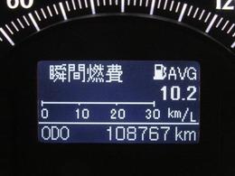走行距離はおよそ109,000kmです。