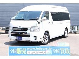 トヨタ ハイエースバン キャンピング トイファクトリー トイズボックス 4WD FFヒーター