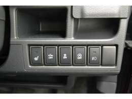 衝突軽減ブレーキや横滑り防止などの安全装備付きで安心。