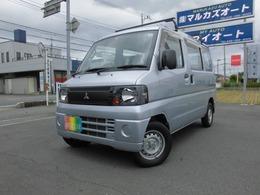 三菱 ミニキャブバン 660 CD 4WD 5MT キャリア付き