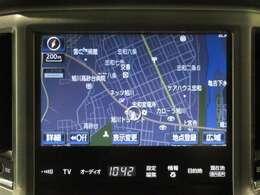 ☆ナビ☆フルセグなので車中でも高画質で見たい番組を見ることができます!