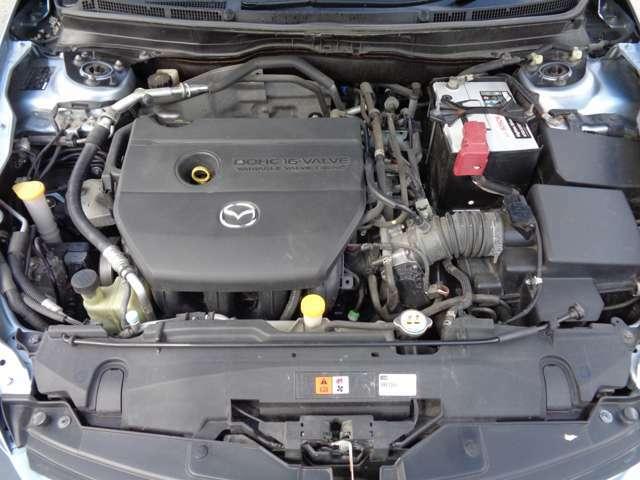 2500CCの調子の良いエンジンです!タイミングチェーンのお車ですので10万キロごとの交換も不要です♪