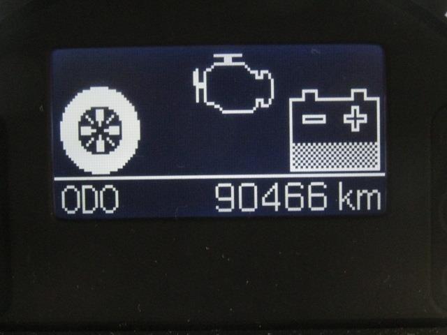 走行距離はおよそ90,000kmです。