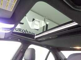 挟み防止機能付き電動ガラスサンルーフはオプション装備!リモコンキーでも開閉が可能!
