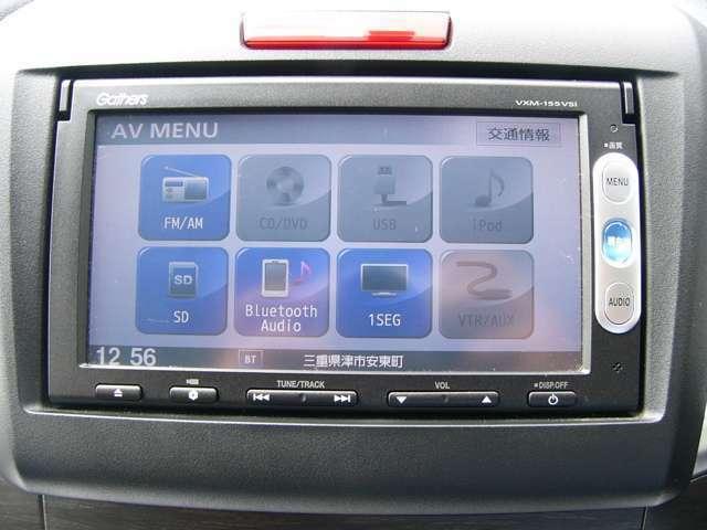 TV・DVD・ブルートゥースなども楽しめます 駐車も安心のリアカメラも付いています