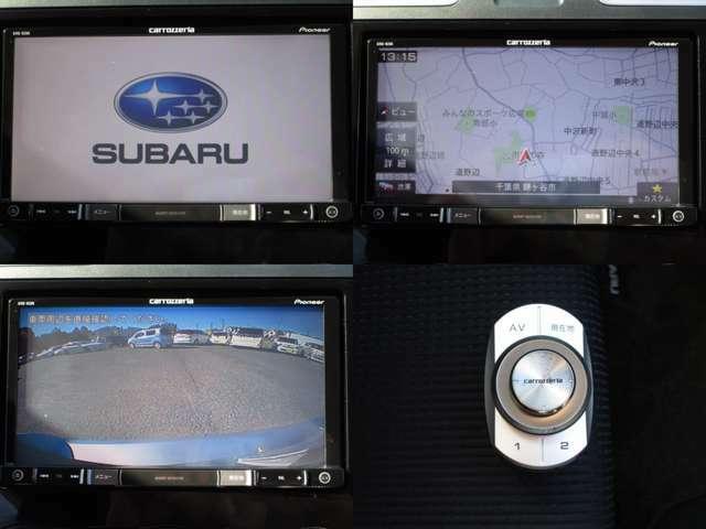 地デジ対応バックカメラ付純正カロッツェリアメモリーナビで、リモコン付です。