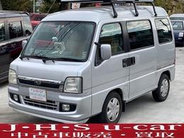 スバル サンバーディアスワゴン 660 5速マニュアル ルーフキャリア ETC 純正CD