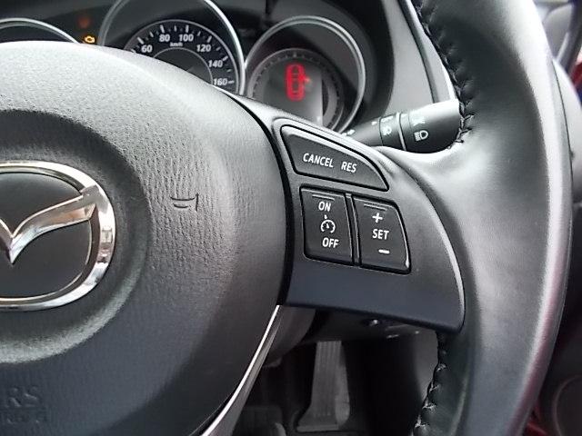 高速道路で快適なクルーズコントロールを装備。