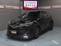 トヨタ C-HR ハイブリッド 1.8 G 衝突被害軽減 9インチTCナビ 本革