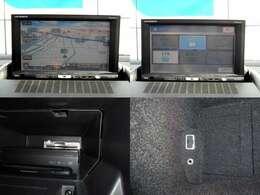 純正オプションHDDナビゲーション付きの1台!ETC車載器に外部入力付きで快適にお使い頂けます!