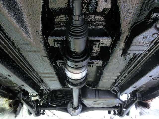 Bプラン画像:大切なお車をサビから守ります。