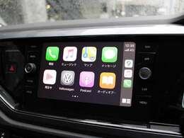 アップルカープレイやアンドロイドオートにも対応。純正ナビゲーションシステム。
