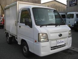 スバル サンバートラック パネルバン 箱付 1年保証付 タイヤ4本新品交換 箱カギ付