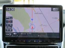 アルパイン製メモリーナビ装備!(XF11Z) バックカメラも装備しているので駐車の時も安心です!