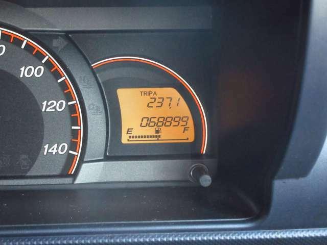 走行距離68000kmです。まだまだ活躍してくれますね。
