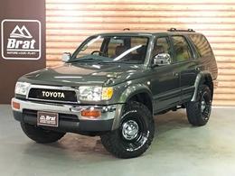 トヨタ ハイラックスサーフ 2.7 SSR-X Vセレクション 4WD グリーンカーキ色 エアコン修理済 SDナビ
