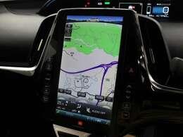 タブレットのような直感的な使い勝手の11.6インチT-Connect SDナビゲーションシステムを搭載。エアコン操作やタイマー充電の設定などの機能が、車内とスマホアプリからも可能となっています。