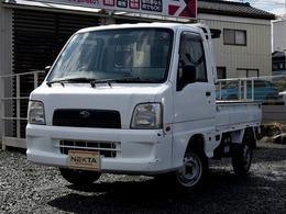 スバル サンバートラック 660 TB 三方開 4WD エアコン エアバック