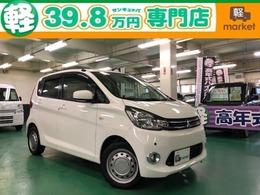 三菱 eKワゴン 660 M 4WD メモリーナビ Bカメラ コーナーセンサー