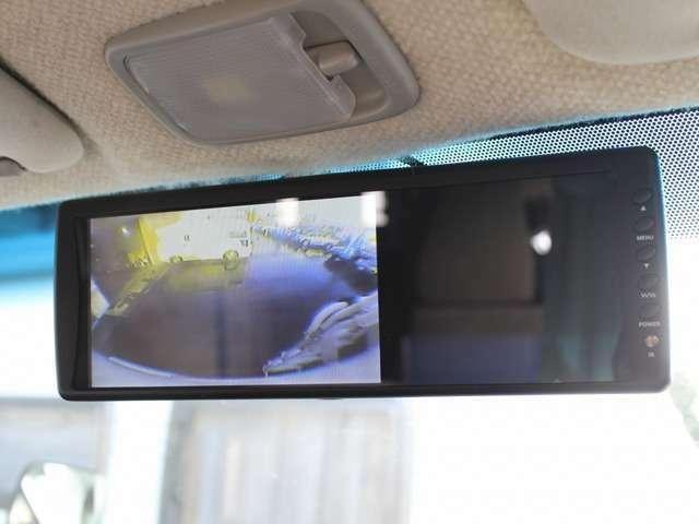 Bカメラも装着されていますのでバックも安心です。