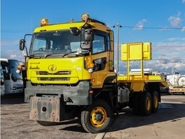 UDトラックス クオン 除雪車 6WD 超高床 ターボ付き