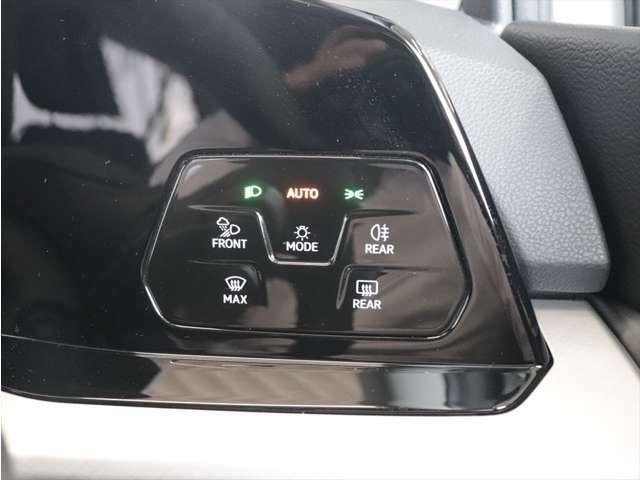 ライトスイッチはタッチコントロールを採用しており、指で触れるだけで操作が可能です。