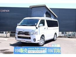 トヨタ ハイエースバン キャンピング FOCS エスパシオ+UP 寒冷地 セーフティセンス FFヒーター