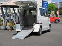 ホンダ N-BOX+ 660 G 車いす仕様車 リアシート無しタイプ スローパー 電動ウィンチ 純正ナビ