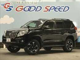 トヨタ ランドクルーザープラド 2.7 TX 4WD ウェッズ17AW リフトアップ A/Tタイヤ