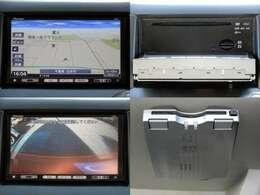 純正メモリーナビ搭載。ワンセグ地デジTV、DVD、CD、SD、Bluetooth等内蔵。バックカメラ、ETC付き。当社HPも是非ご覧下さい。[carac]検索で!