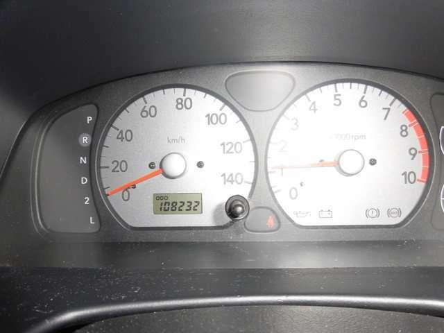 メーター交換時に105232キロ走行の中古メーターへ交換。なので交換後の走行は実質3000キロです