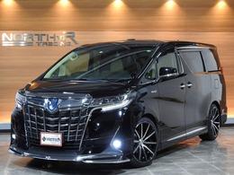 トヨタ アルファード ハイブリッド 2.5 X 4WD フルエアロ 新品20AW ローダウン 1オナ
