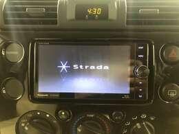 【strada SDナビ】CD/DVD/Bluray/DTV/SD/Bluetooth/USBバックカメラ