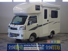 ダイハツ ハイゼットトラック JPスター H1 4WD 2000Wインバーター ソーラーパネル