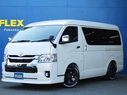 トヨタ ハイエース 2.7 GL ロング ミドルルーフ FLEX ZERO ベッド