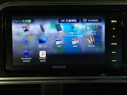 【ケンウッドメモリーナビ】CD/DVD/Bluetooth/SD/iPod/AM/FM