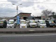 国道4号線沿い!仙台から大崎に向かって左側に注目!
