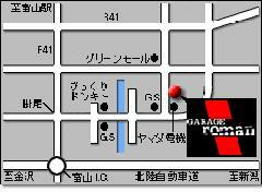 ユニクロ富山 山室店様の向かいにございます
