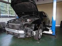修理・板金塗装もお客様のご要望に応じた修理方法をご提案。輸入車修理もお任せください!