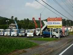 クレーン車からトラックなども品数多く取り揃えております。個人の方・法人の方問わずお気軽にお問合せ下さいませ。