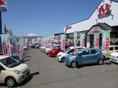 常時100台以上の展示車両から中古車リースをご利用頂けます!♪