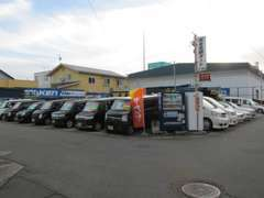 格安軽自動車を中心にVIPセダンまで取り扱っております。