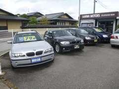 良質車を多数展示中!!射水市には工場もございます!