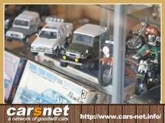 ミニカーも買取しています。中古車以外にもお気軽にご来店下さい。特に、希少車など高価買取致します!